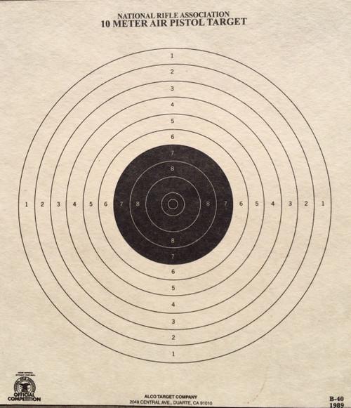 B-40 Shooting Target