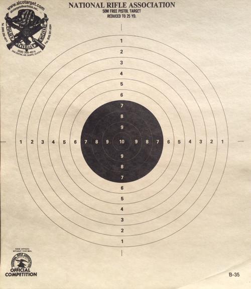 B-35 Shooting Target