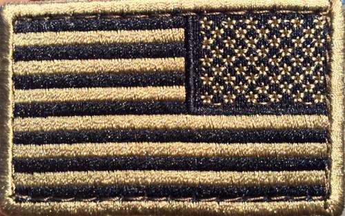 CONDOR (230R) Reverse Tan Flag Patch