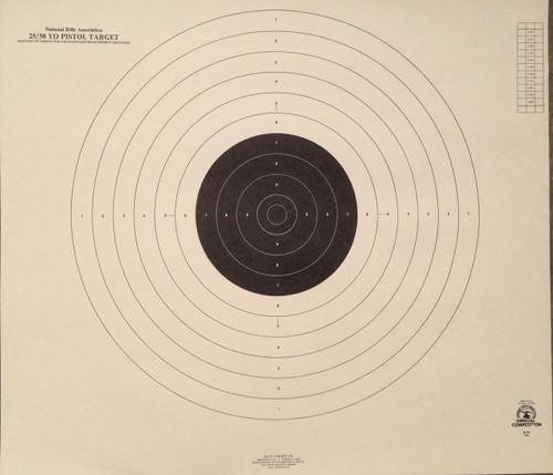 B-19 Pistol Shooting Target