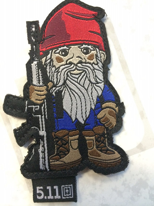 Tactical Gnome Patch Red