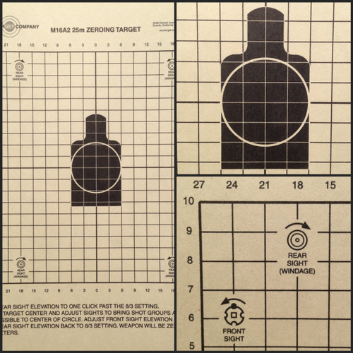AR Zero Shooting Target