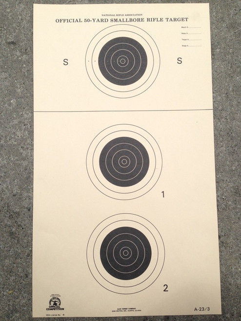 A-23/3 Shooting Target
