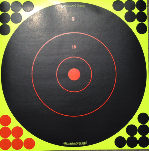 "Shoot-N-C 12"" Reactive Shooting Target"