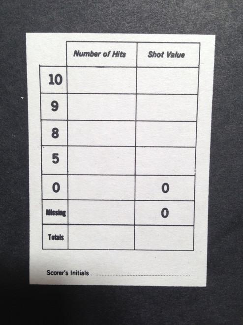 BT-5R/2 Green shooting target (Printed on white paper)