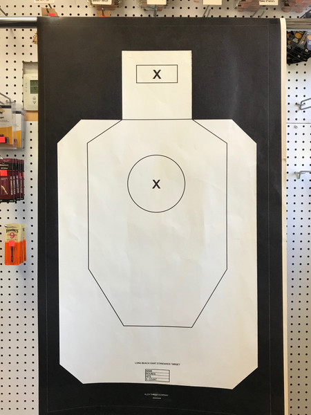 LONG BEACH SWAT STANDARDS TARGET