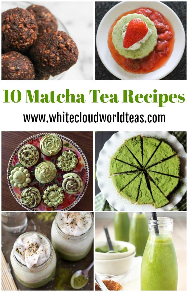 10 Matcha Tea Recipes