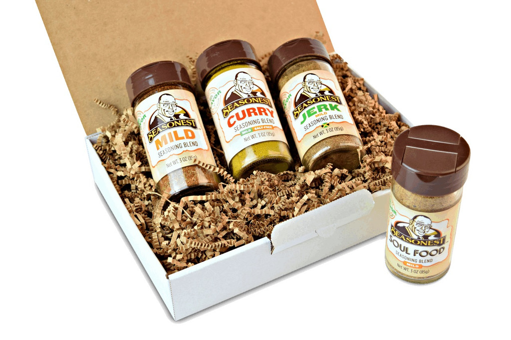 Seasonest Easy Going Mild Spice Blend Set