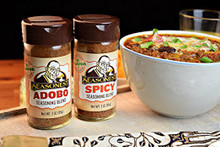 Seasonest Adobo and Spicy Spice - Boilermaker Chili