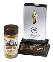 2017 Fiery Food Challenge Golden Chili Winner - Seasonest Ghost Pepper Curry Spice Blend