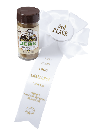 2017 Fiery Food Challenge 3rd Place - Seasonest Ghost Pepper Jerk Spice Blend