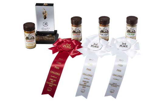 Seasonest Ghosted Extreme Heat 4 Pack - 2017 Fiery Food Challenge Awards