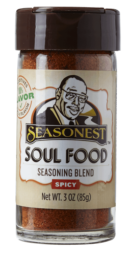 Seasonest Soul Food Spicy Spice Blend