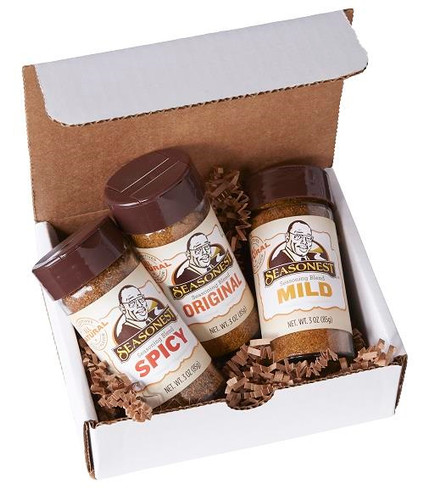 Seasonest 3 Pack Spice Blend Set