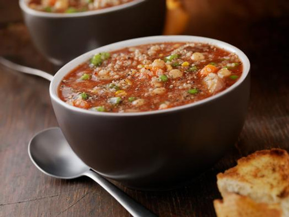 Beef Barley Vegetable Soup Recipe with Our Original Spice