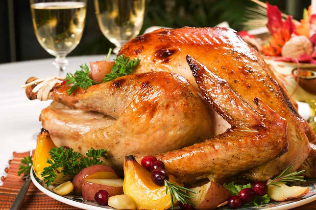 Dry Brine Turkey is a Huge Hit for a Holiday Feast