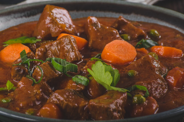 Rich Curry Beef Stew for the Crock-Pot
