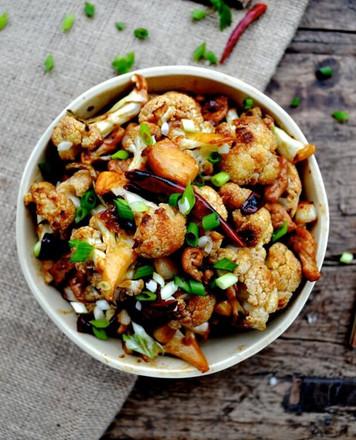 Spicy Roasted Cauliflower Stir-Fry Recipe