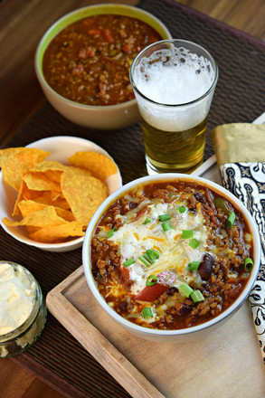 The Best Way to Enjoy Beer and Chili - Boilermaker Chili