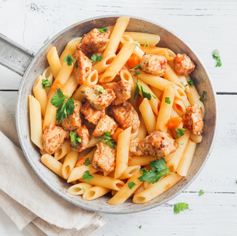 Adobo Chicken Pasta Recipe