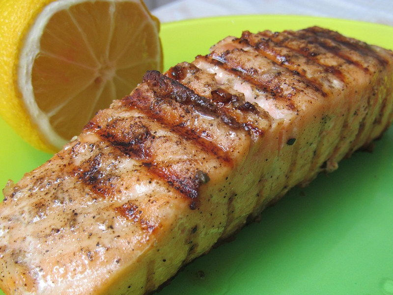 ​Grilled Fish with a Tangy Kick - Salmon Filet