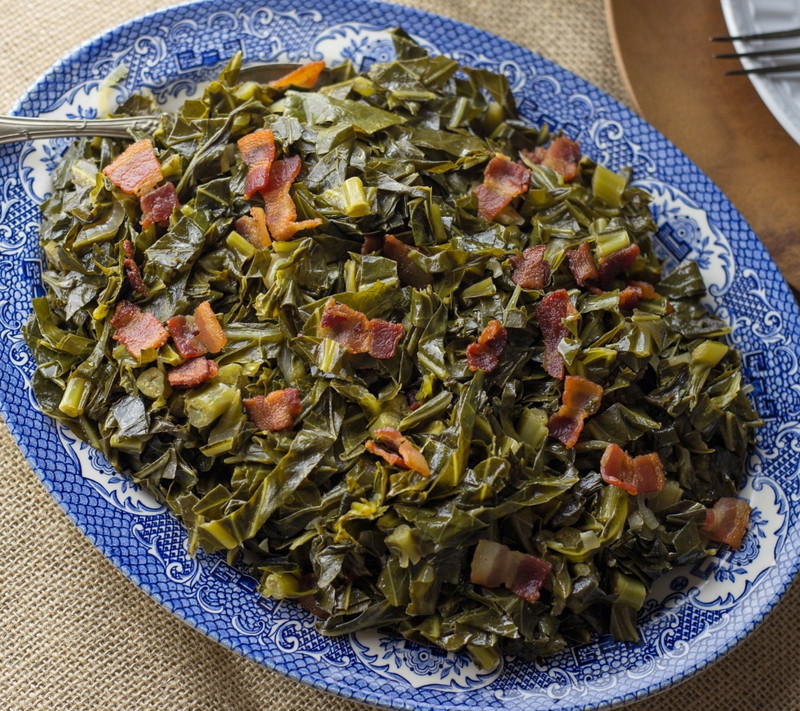 Collard Greens with Spicy Soul Seasoning Recipe