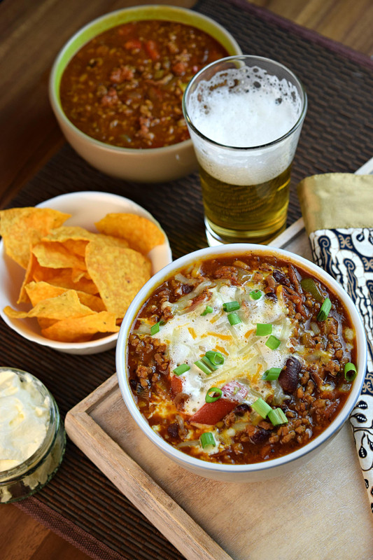 The Best Way To Enjoy Beer And Chili Boilermaker Chili Seasonest