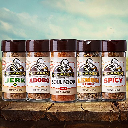 Top Selling - Seasonest Keep It Hot Five Pack Seasoning Blends