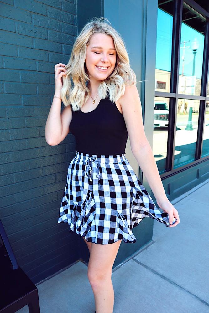 Checkmate Skirt