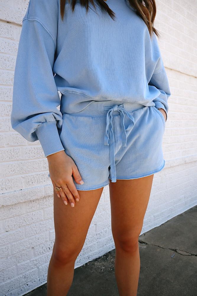 Lia Washed Shorts
