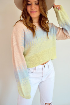 In the Clouds Sweater