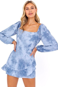 Feeling Blue Romper