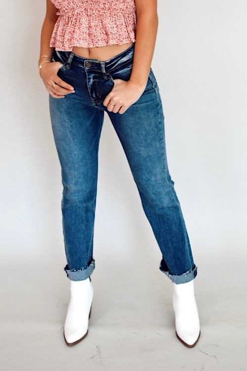 Davie Dark Straight Jean
