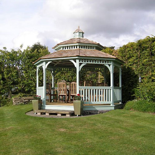 14' Octagon Gazebo #06