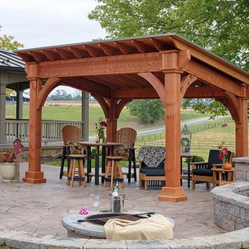 Excellent Outdoor Living Outdoor Structures Pavilions Sante Fe Download Free Architecture Designs Licukmadebymaigaardcom