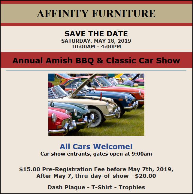 2019 Amish BBQ & Classic Car Show