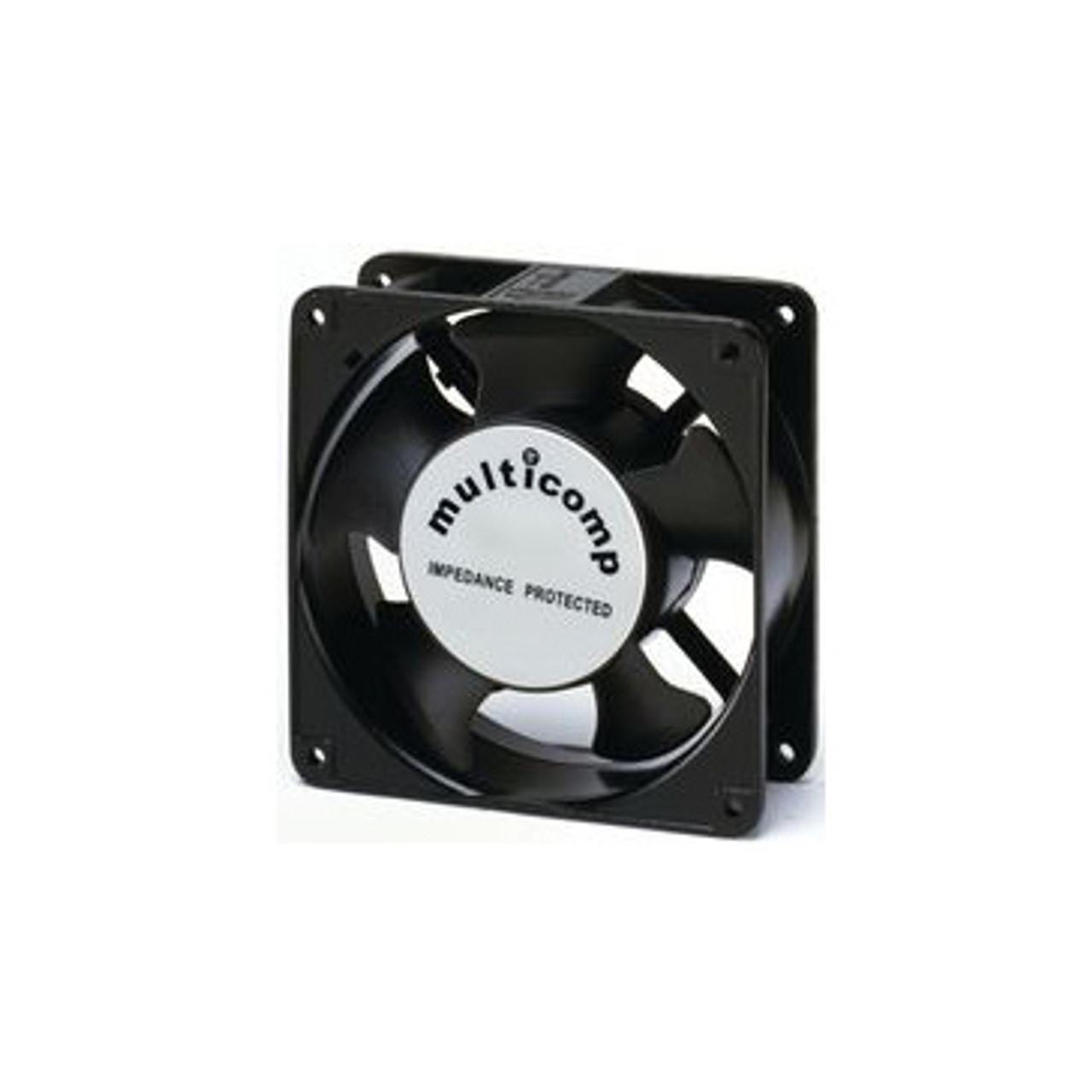 Muffin Fan, 119mm, 240VAC 50/60Hz