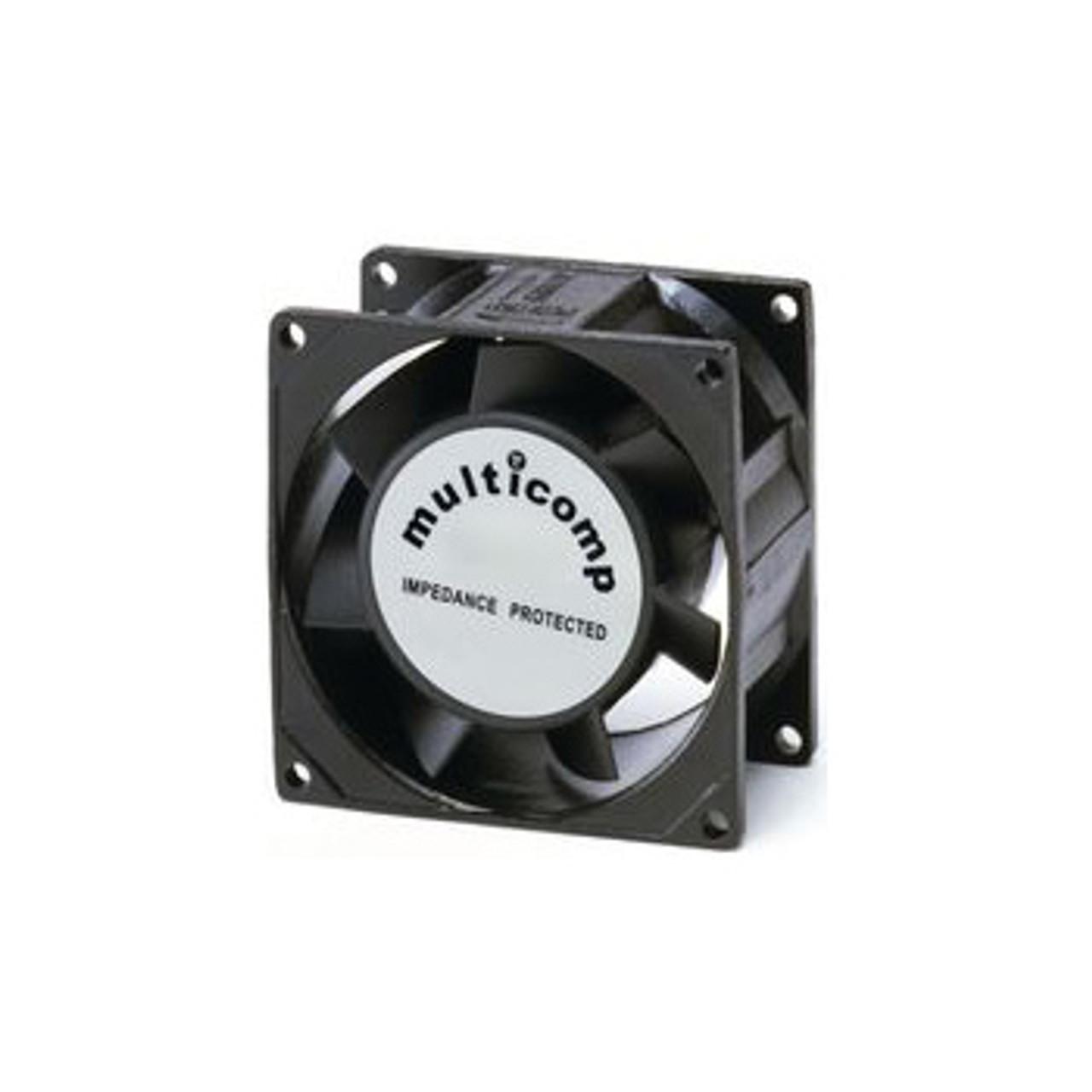 Muffin fan, 80mm, 115VAC, 50/60Hz Ultra-quiet