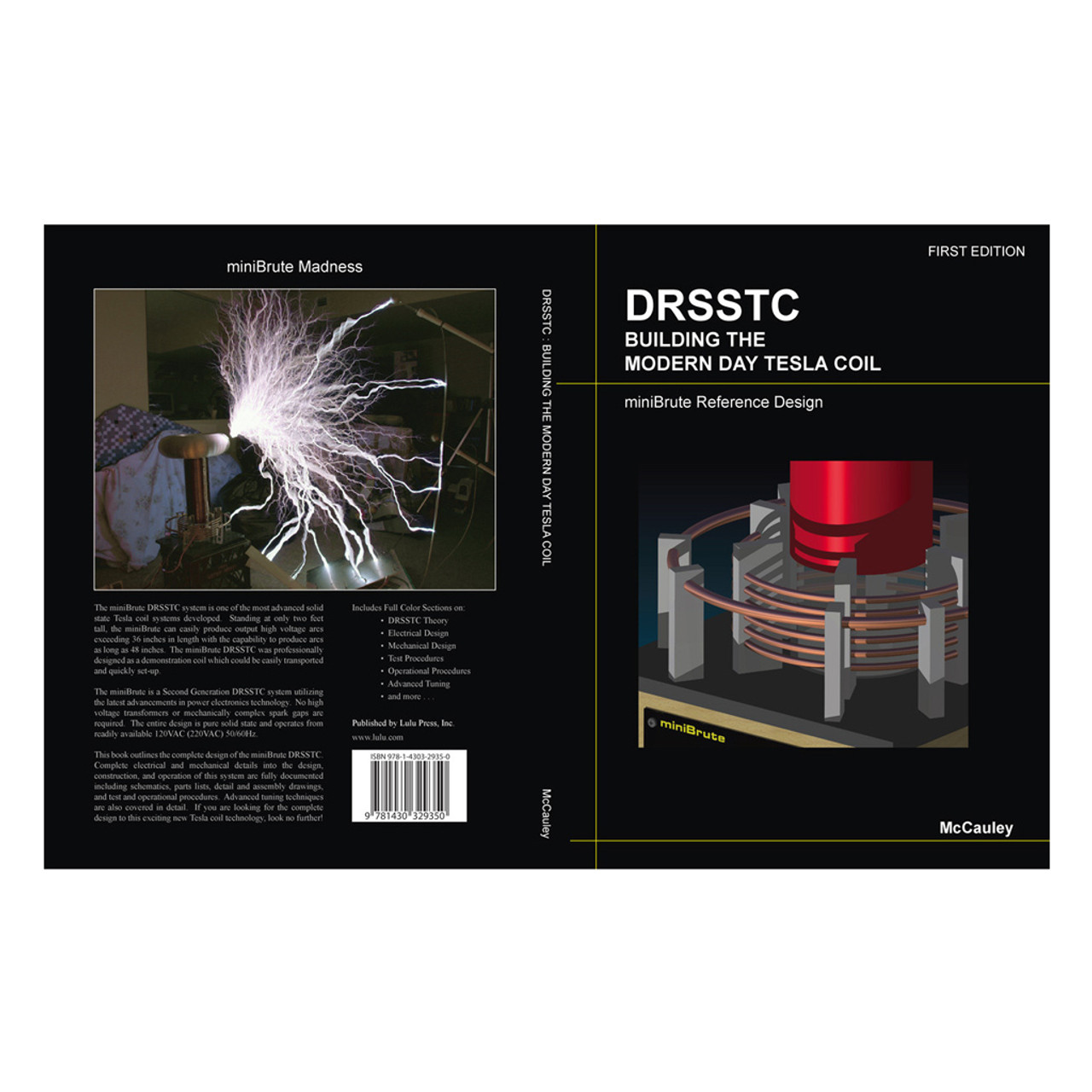 DRSSTC:  Building the Modern Day Tesla Coil Book