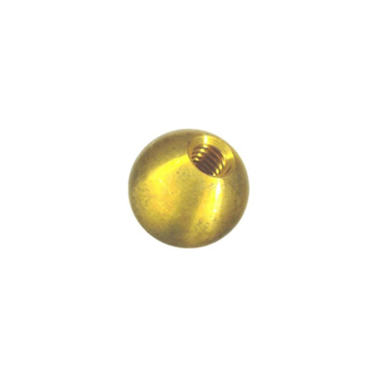 "1"" DIA Brass Corona Ball"