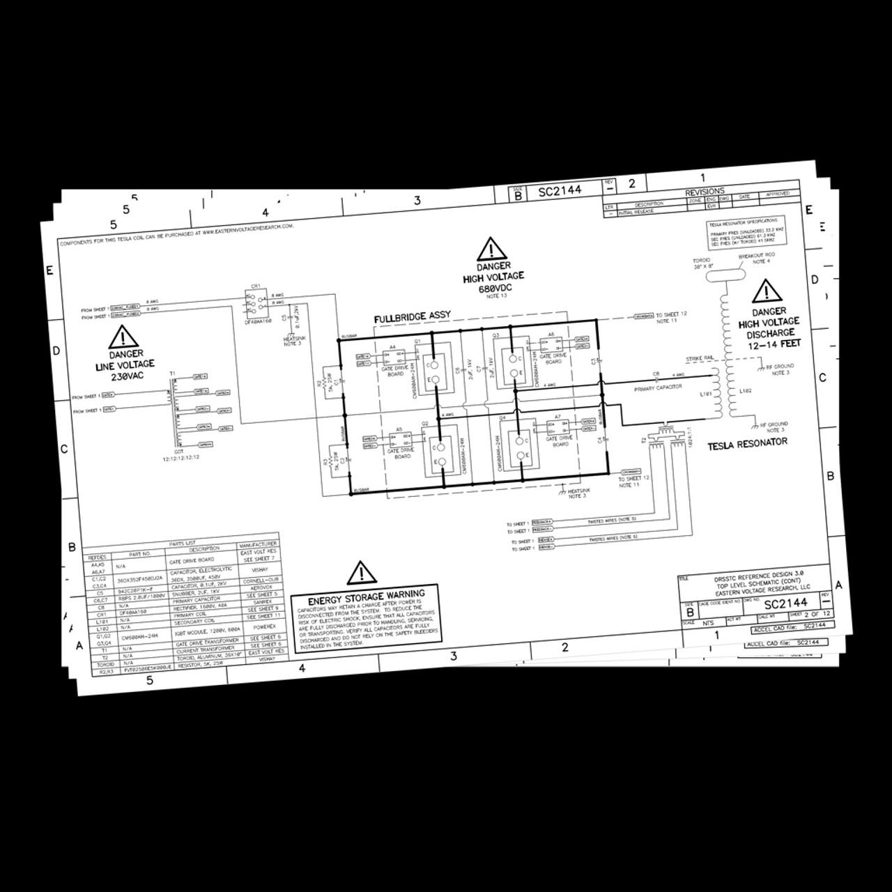 DIY Musical Tesla Coil Plans - Reference Design 3.0