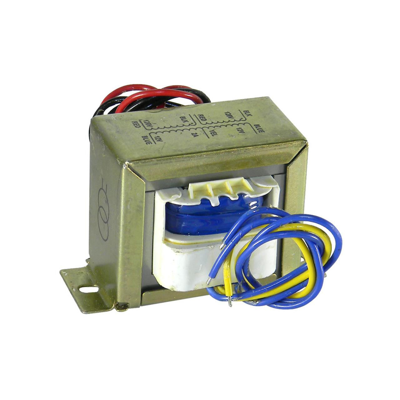 Transformer, 24VAC, 2A