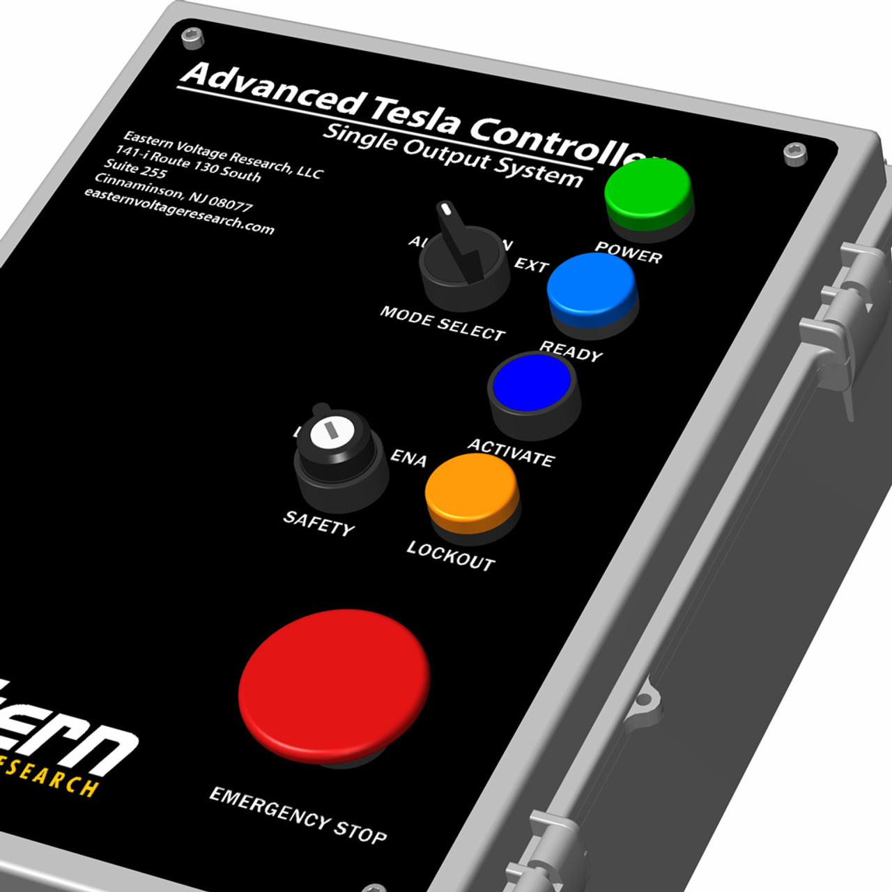 Advanced Tesla MIDI Controller - Single Output for DRSSTCs