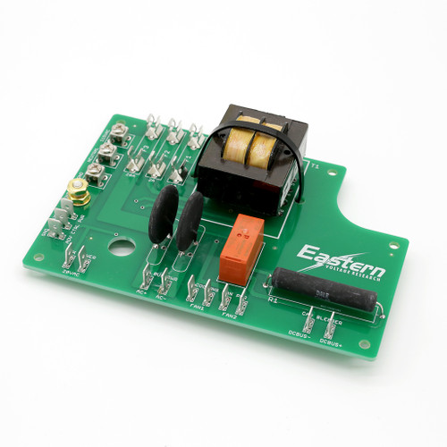 Power Distribution Board for Reference Design 1.0 DRSSTC Tesla Coil