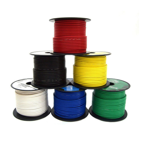 10 AWG Wire, Mil-Spec, For Tesla Coils