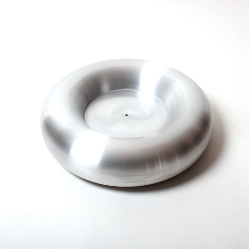 "30"" x 16"" Spun Aluminum Toroid for Tesla Coils and High Voltage Applications"