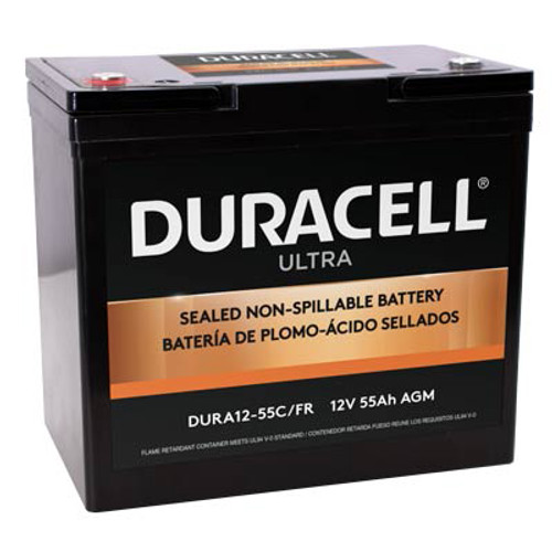 Duracell AGM Ultra 55ah, 12V Battery