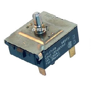 (P1-7) Bunn O matic 01052.0000 On/Off rotary switch