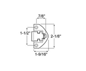 (D5-4) Kason 930C strike 3/4 to 1-1/4