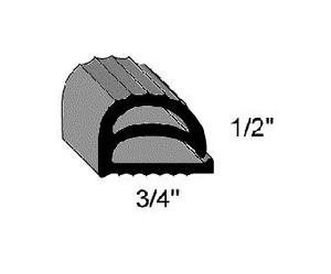 (J2-8) Compression P10441-PF Gasket per foot